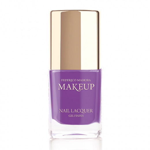 Federico Mahora - Nail Lacquer Gel Finish Trendy Violet 11ml