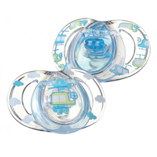 Tommee Tippee Closer to Nature Soother Fashion Style, 3-9 months, 2 Pcs