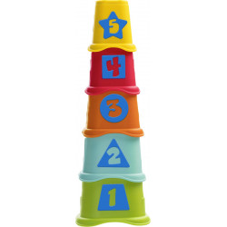 Chicco 2 in 1 Stacking Cups