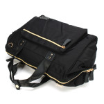 Colorland Diaper Bag Tote - Black