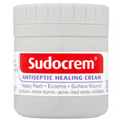Sudocrem Antiseptic Healing Cream For Nappy Rash, Eczema, Burns and more - 60g