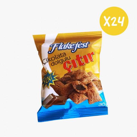 Flakefest Cacao Cream Filles Pillows X24 pieces