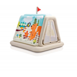 خيمة لعب داخلية بممرات الحيوانات ، الأعمار من 3 إلى 6 سنوات من انتكس ، 1.27 م × 1.12 م × 1.16 م