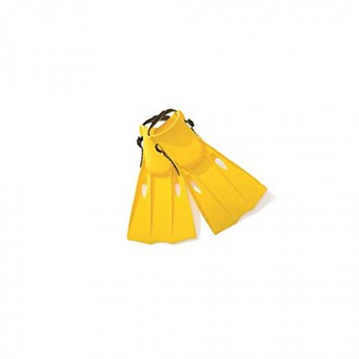 Intex - Medium Swim Fins, Pair, (Fits Shoe Sizes 5-8)