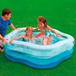 مسبح صيفي الوان متدرجة من انتكس  ، 185 سم × 180 سم × 53 سم