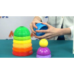 Fisher-Price Toy Stack and Roll Cups