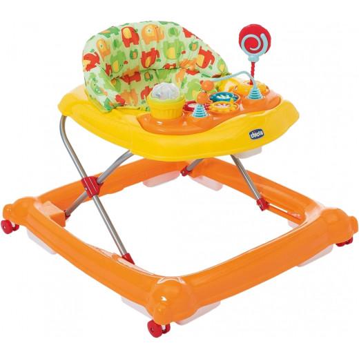 Chicco Cirus Baby Walker, Orange