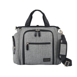 Colorland Gabrielle Tote Baby Changing Bag, Heather Grey