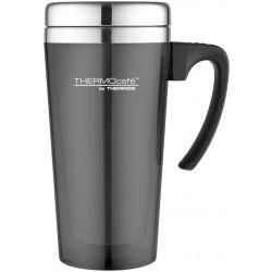 Thermos Translucent Travel Mug Gun Metal 420ml
