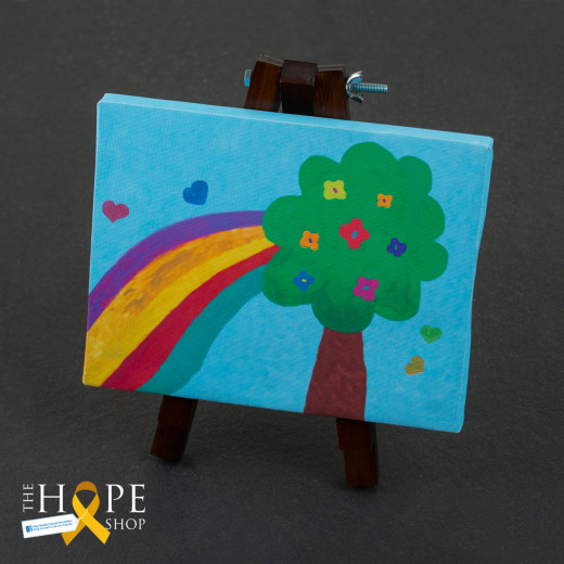 Hope Shop By KHCF - Kids Drawings On Canvas