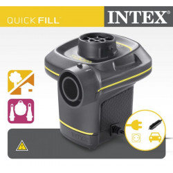Intex - 220 -240 Volt Quick - Fill AC/DC Electric Pump