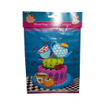 Amscan 8 Mad Hatter's Tea Party Loot Bags