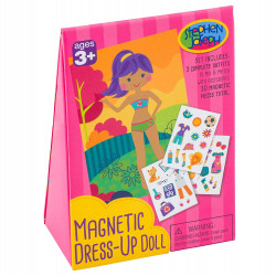 Stephen Joseph Magnetic Dress-Up Doll Girl