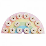 Ginger Ray Rainbow Donut Wall Doughnut Party Wedding favor Display Treat Stand Decorate