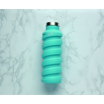 Que Collapsible Water Bottle, Misty Mint, 355 ml