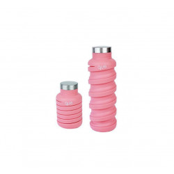 Que Collapsible Water Bottle, Coral Pink, 590 ml