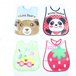 Baby Wax Bibs, Different Models, Assortment