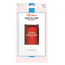 Sally Hansen Insta-Dri Topcoat Clear, 13.3 ml