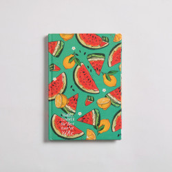 Watermelon Notebook Hardcover A6 Size
