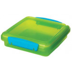 Sistema Lunch Sandwich Box, 450 ml, Green