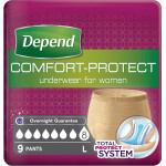 ملابس داخلية مريحة للحماية للنساء من ديبند  ، سوبر سروال نسائي كبير ، 9 قطع