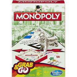 لعبة مونوبولي جراب اند جو (حجم مناسب للسفر) من هاسبرو