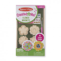 Melissa & Doug Flower Magnets