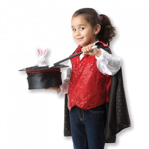 Melissa & Doug Magician Role Play Costume Set, 3-6 years