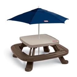 طاولة تخزين قابلة للطي مع مظلة من ليتل تايكس