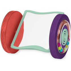 B. Toys – Looky-Looky Crawl Along Mirror – Sensory Crawling Toy for Babies