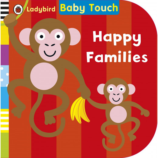 Ladybird Baby Touch: Happy Families Board book