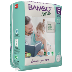 Bambo Nature Diapers Size 6 (16+ Kg), 20 diapers