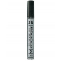 Faber Castell  Click Leads 2.0 mm 2B