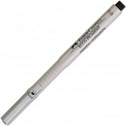 Faber-Castell Ecco Pigment FIneliner 0.8mm Black Ink Pen