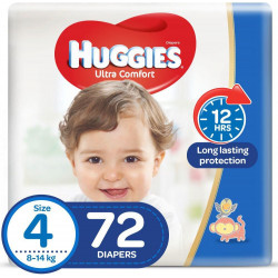Huggies Mega Diapers Size (4) 72X1