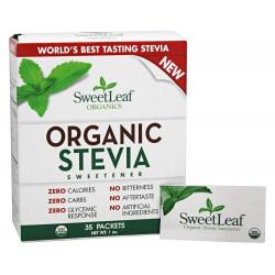 SweetLeaf - Organic Stevia Sweetener 35 Pck