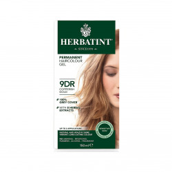 Herbatint Number 9DR Copperish Gold Permanent Herbal Hair Colour Gel,150 ml