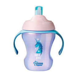 Tommee Tippee Easy Drink Straw Cup 230ml, Pink