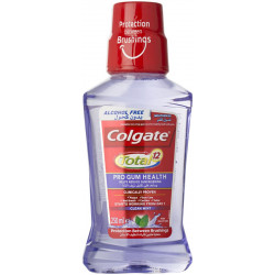 Colgate mouthwash helps to reduce bleeding of the gums - 250 ml