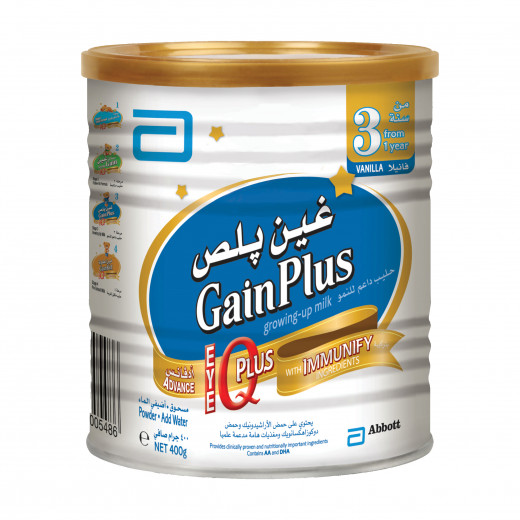 Abbott Similac Gain Plus IQ Stage 3 - 400 g