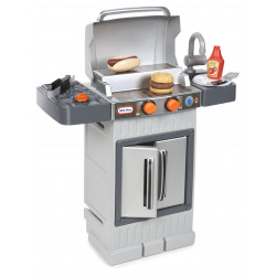 Little Tikes Cook ''n Grow BBQ Grill with Cooking Accessories and Food