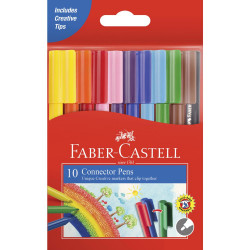 قلم موصل 10 الوان من فابر كاستل