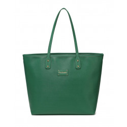 Colorland Ariana Faux Leather Tote Baby Diaper Bag Shoulder Fashion Bag (Green)