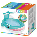 Intex Whale Spray Pool, 201 cm X 196 cm X 91 cm
