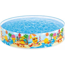 Intex Duckling Snapset Paddling Pool, 25 cm