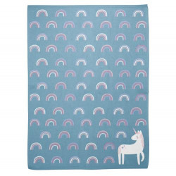 Stephen Joseph Knit Baby Blankets, Unicorn