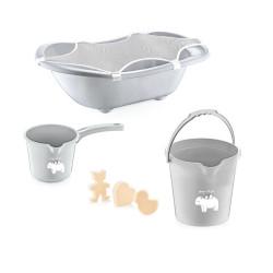 Baby Jem Baby Bath Set 5 pieces, Grey
