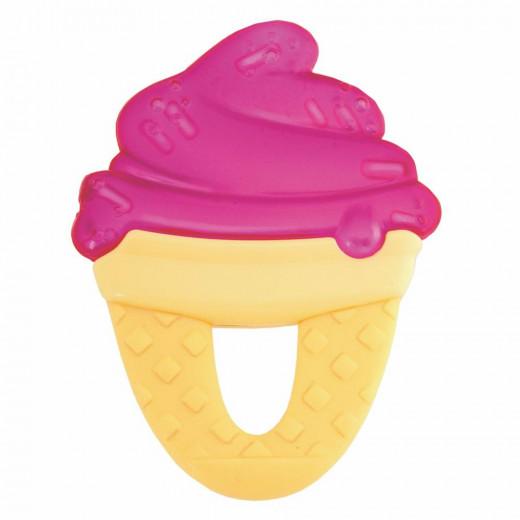 Chicco Fresh Relax Ice Cream Teether, Fuschia