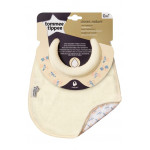 Tommee Tippee Closer to Nature Milk Feeding Bib, Cream