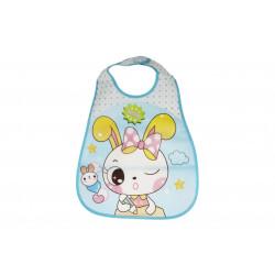 Plastic Baby Bib Waterproof, Rabbit